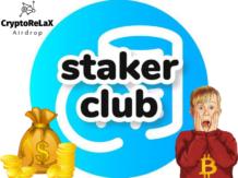 Заработок криптовалюты STAKER и MONETA без вложений