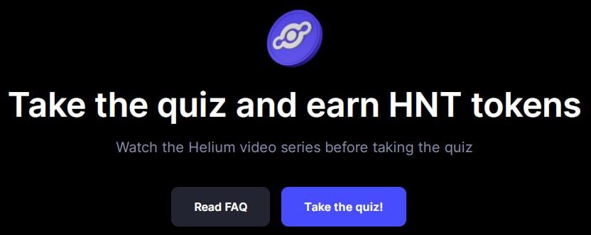 Нажимаем на кнопку Take the quiz!