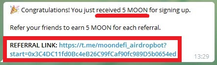партнёрская программа moondefi