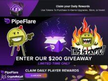 PipeFlare - получай криптовалюту ZEC DASH DOGE FLR бесплатно каждый день