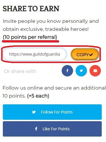 Партнёрская программа Guild of Guardians