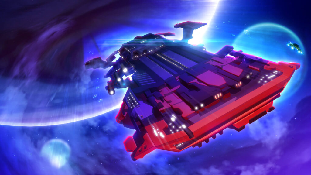 Crypto Space Commander Battlecruiser