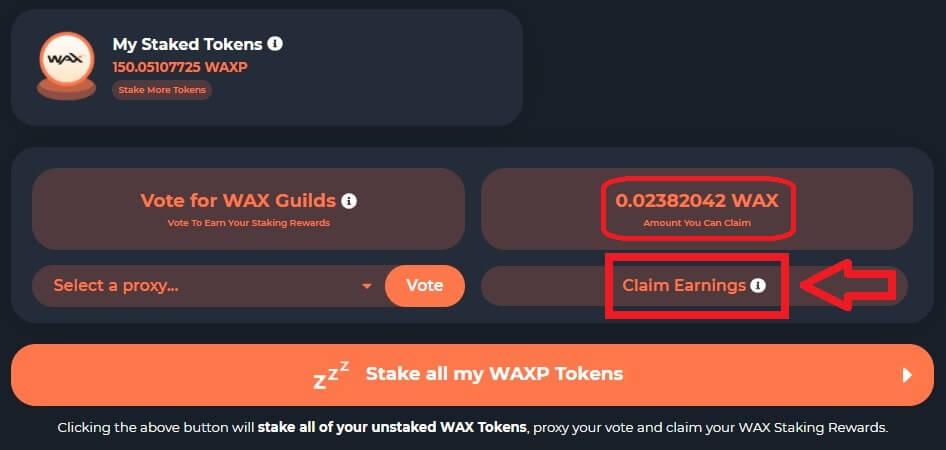 claim wax