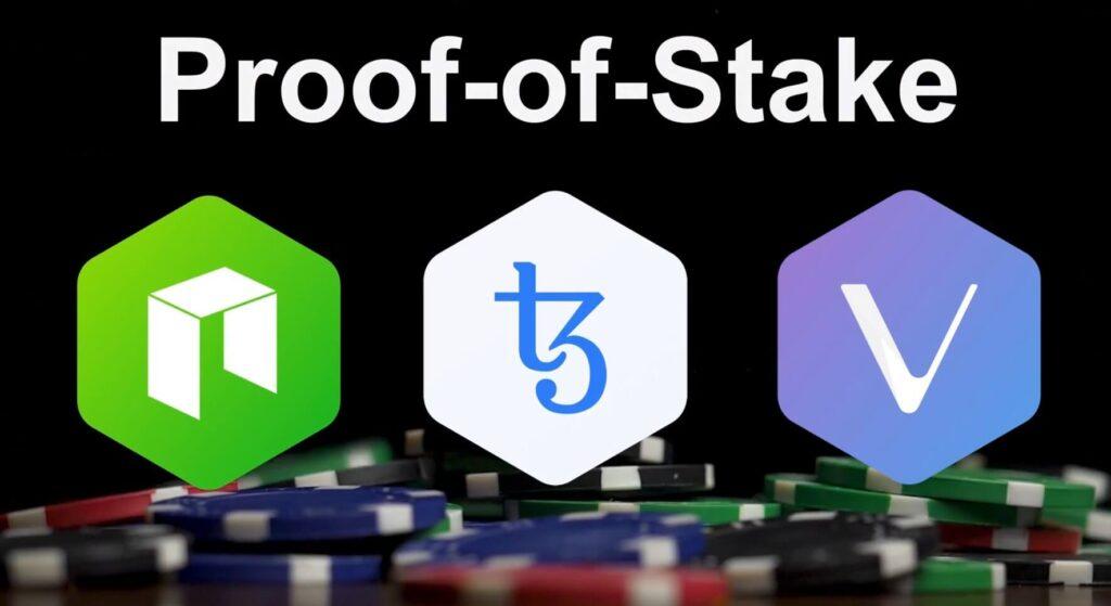 proof-of-stake neo xtz vechain