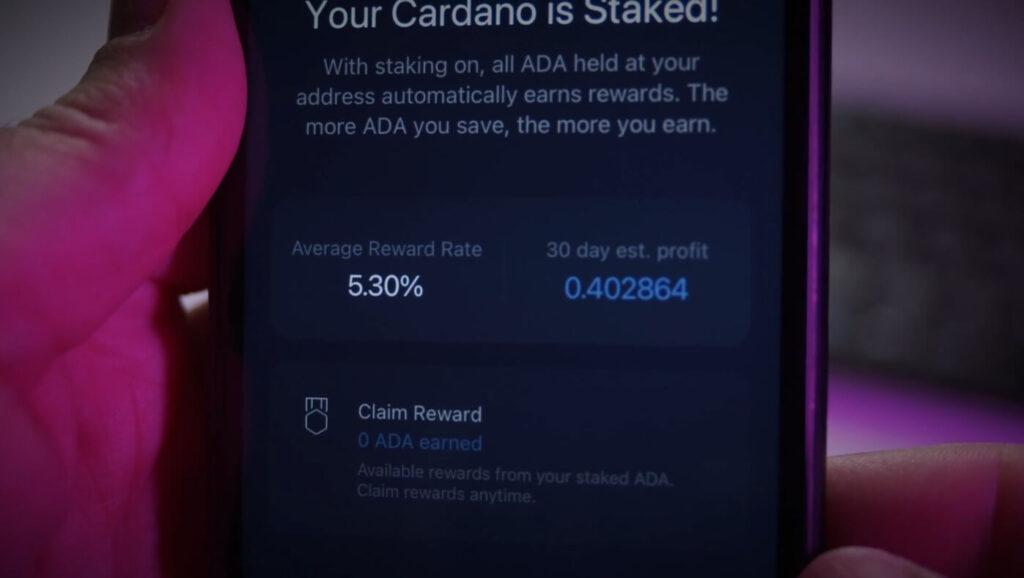 claim cardano ada