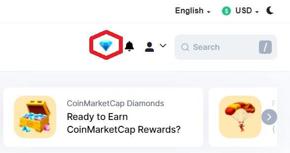 diamonds coinmarketcap