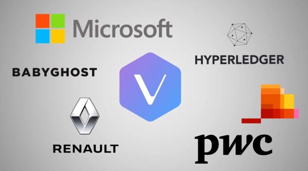 microsoft babyghost renault hyperladger pwc используют vechain