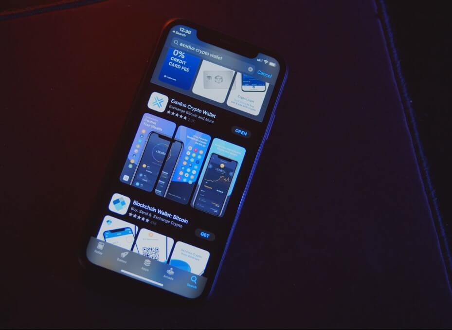 кошелёк эксодус мобильная версия